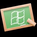 App windows users icon