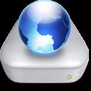 Network File Server metal icon
