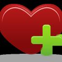 favorite, heart, add icon