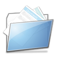 paper, document, folder, file icon