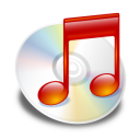 itunes, red icon