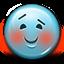 Emot Blush Blushing icon