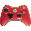 red,controller icon