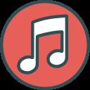 music, network, logo, brand, social icon