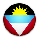 and, of, barbuda, antigua, flag icon
