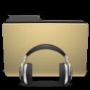 sound, manilla, folder icon
