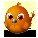 twitter, animal, firebird, bird icon