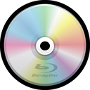 blank, bluray, optical media, dvd, cd icon