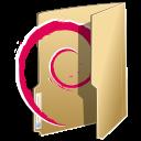 Folder debian icon