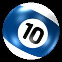 Ball 10 icon