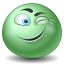 Emot, Wink icon