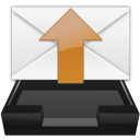 read, unread, mail, inbox, outbox icon