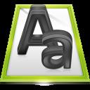 Files Font File icon