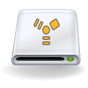 Devices removable firewire icon