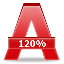 %, Alcohol icon