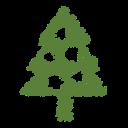 decoration, xmas, tree, christmas, holiday, ornaments, scribble icon