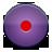 Button, Record, Violet icon