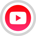 social, you, media, tube, logo icon