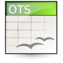 opendocument spreadsheet, template icon