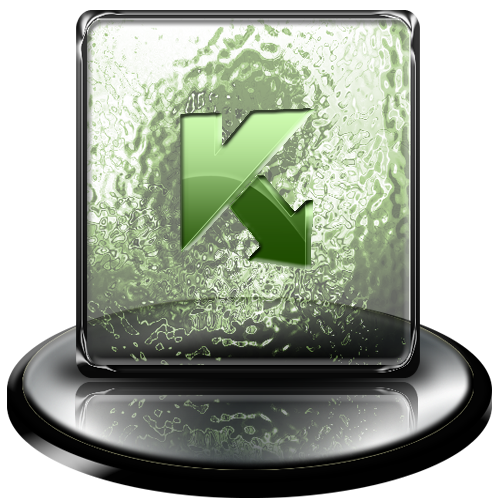 kaspersky, green, classic icon