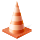 vlc,cone,traffic icon