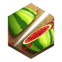 ninja, fruit icon
