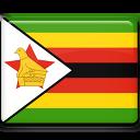 zimbabwe, flag, country icon