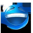 bizzare, happy, rofl, smiley, funny, laugh icon