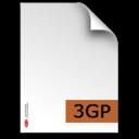 3gp,fileextension icon