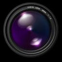, Aperture, Purple icon
