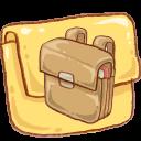 schoolbag, folder icon