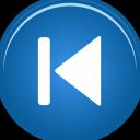 skip, backward icon