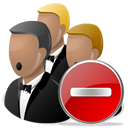 Delete, Network icon