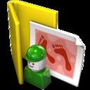 user,folder icon