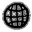 planet, earth, hand drawn, globe icon