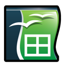 office, open, calc icon