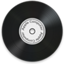 lp, music, vinyl, disc icon