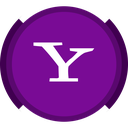 mail, social, yahoo, search icon