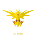 kanto, zapdos, pokemon, electr, legendary icon