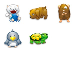 Tiny Animals icon sets preview