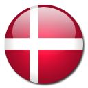 flag, denmark, country icon