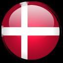 flag, denmark, country icon