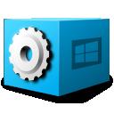 ms, dos, executable, application icon