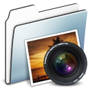photo,folder,graphite icon