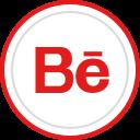media, social, behance, logo, brand icon