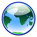 network, internet, earth, world icon