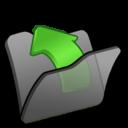 folder,black,parent icon