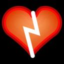 face heart broken icon