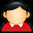 User Coat Red icon