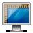 Glossy, Rulers, Screen icon